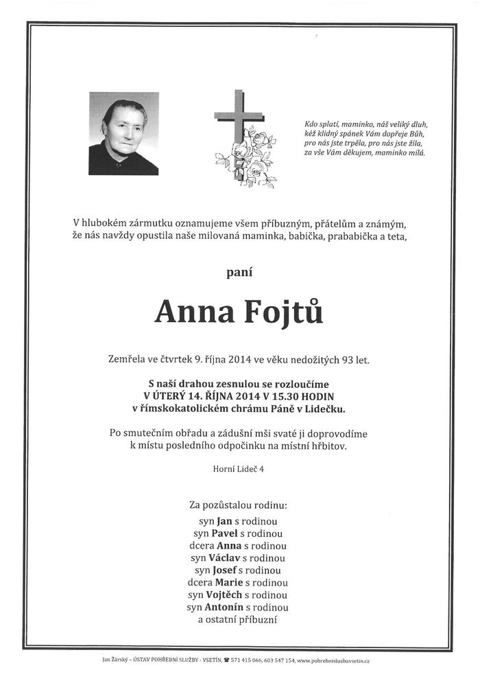 Anna Fojtů