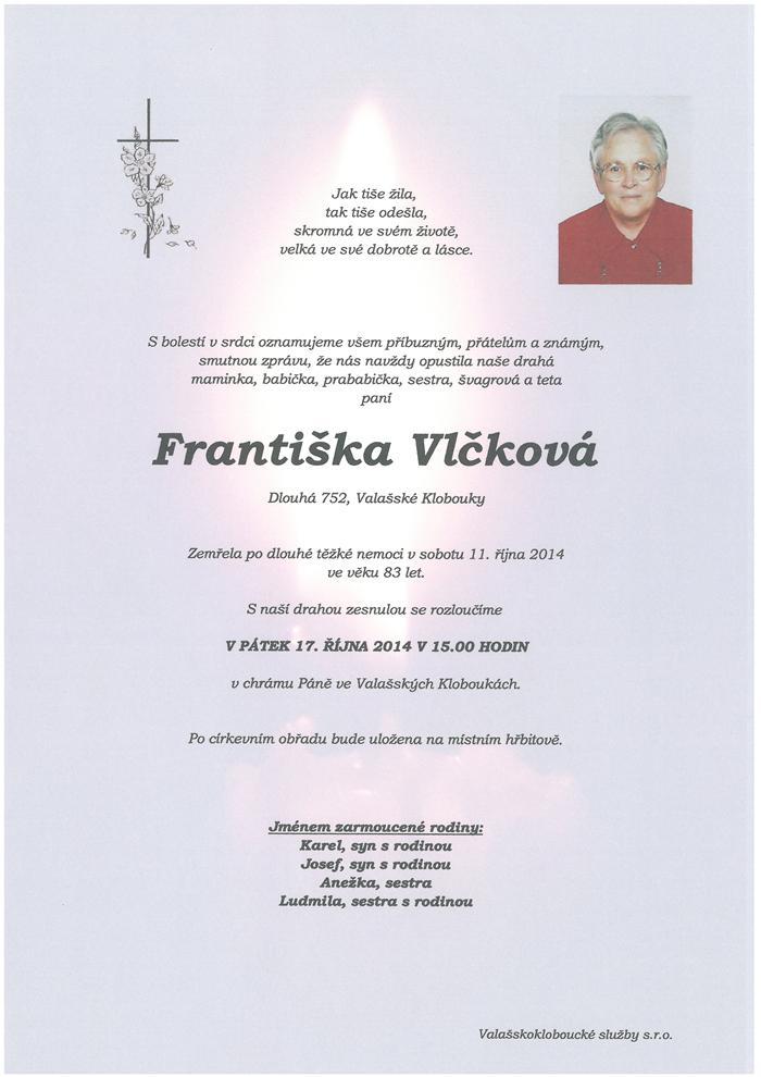 Františka Vlčková