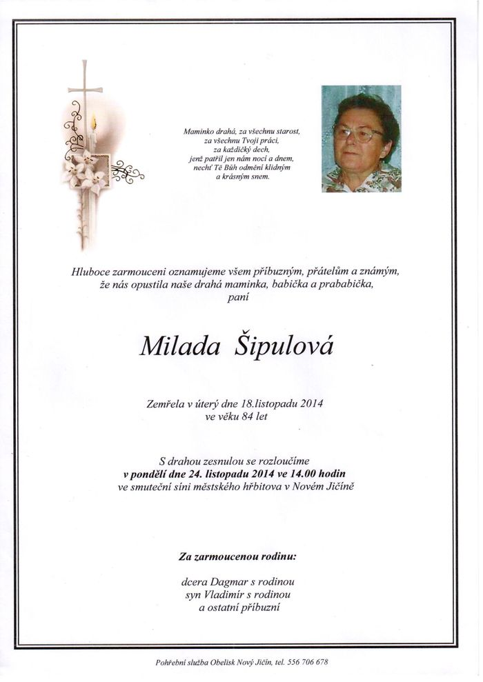 Milada Šipulová