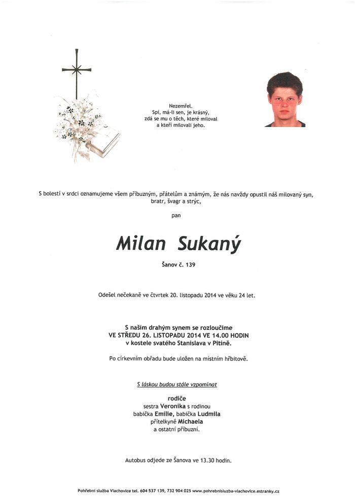 Milan Sukaný