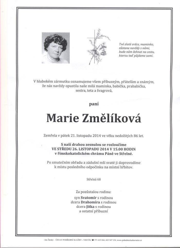 Marie Změlíková