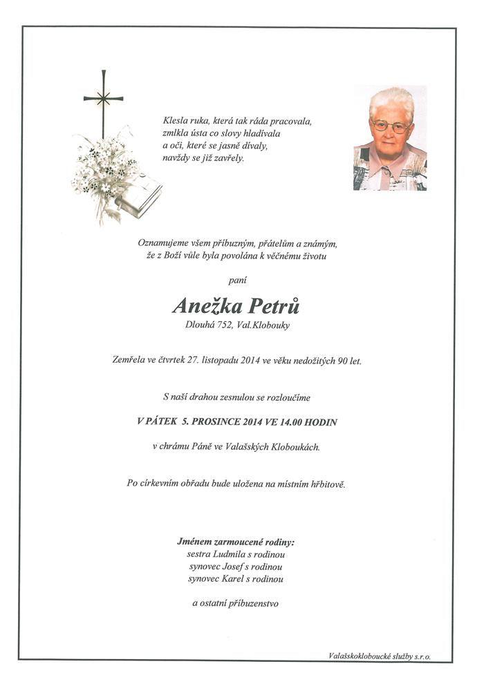 Anežka Petrů