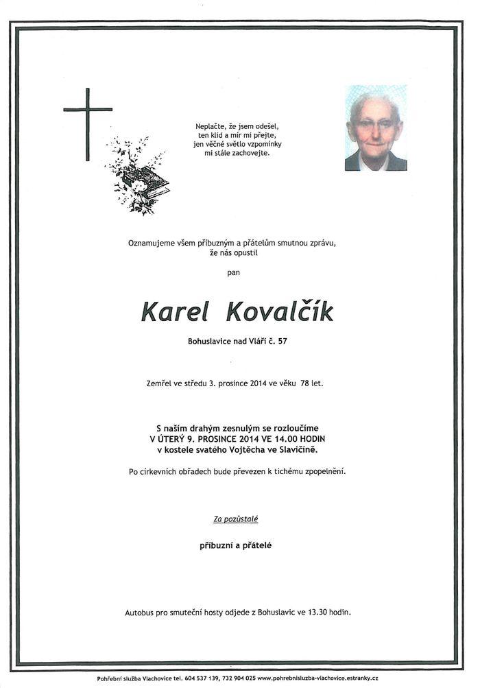 Karel Kovalčík