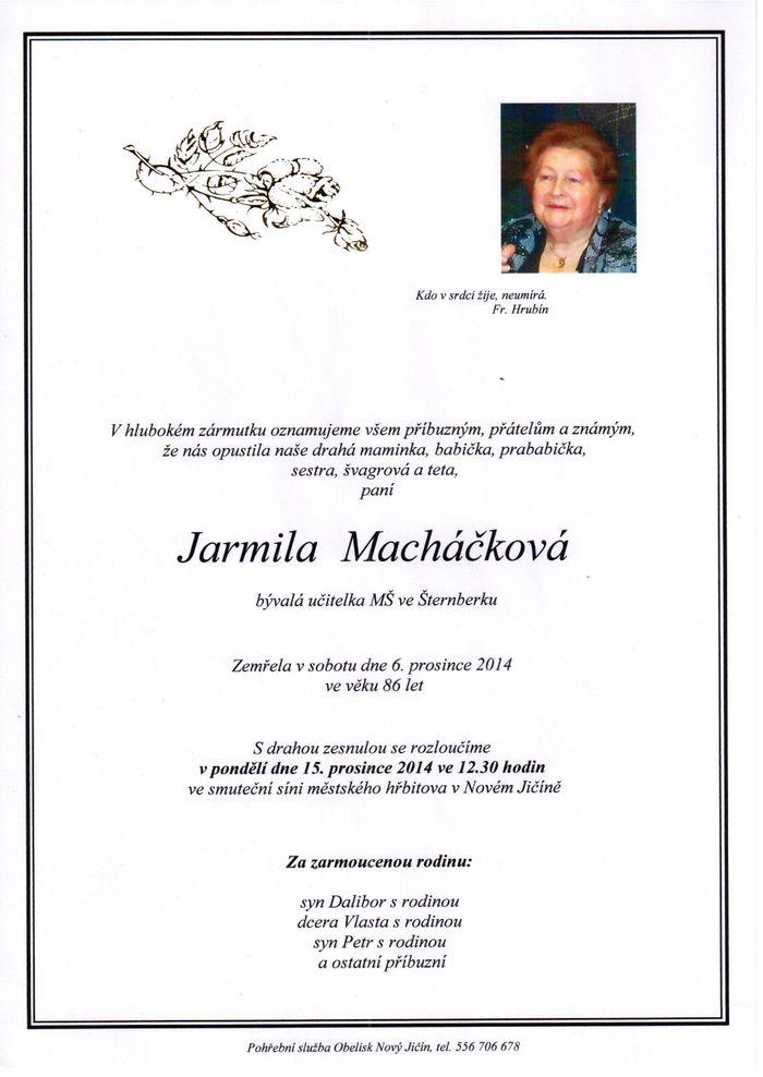 Jarmila Macháčková