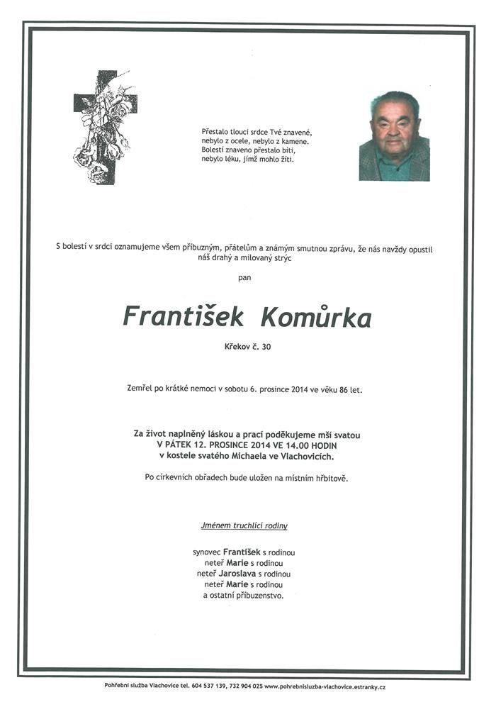 František Komůrka
