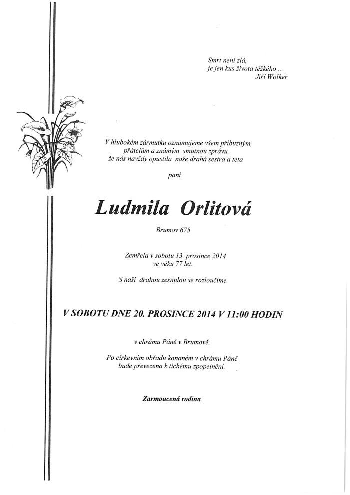 Ludmila Orlitová