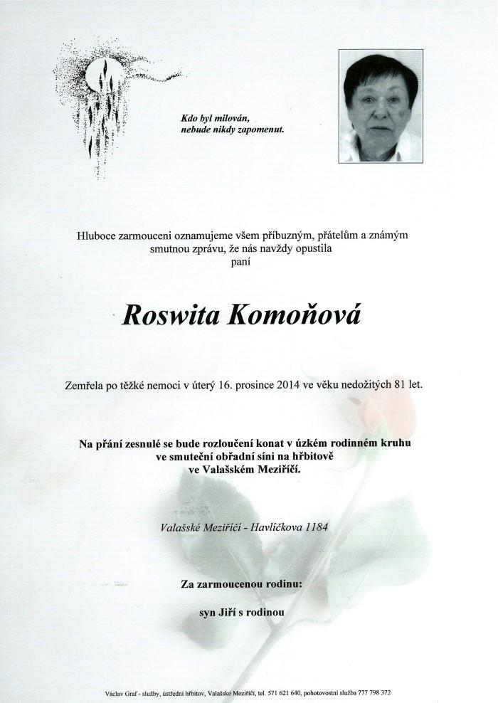 Roswita Komoňová