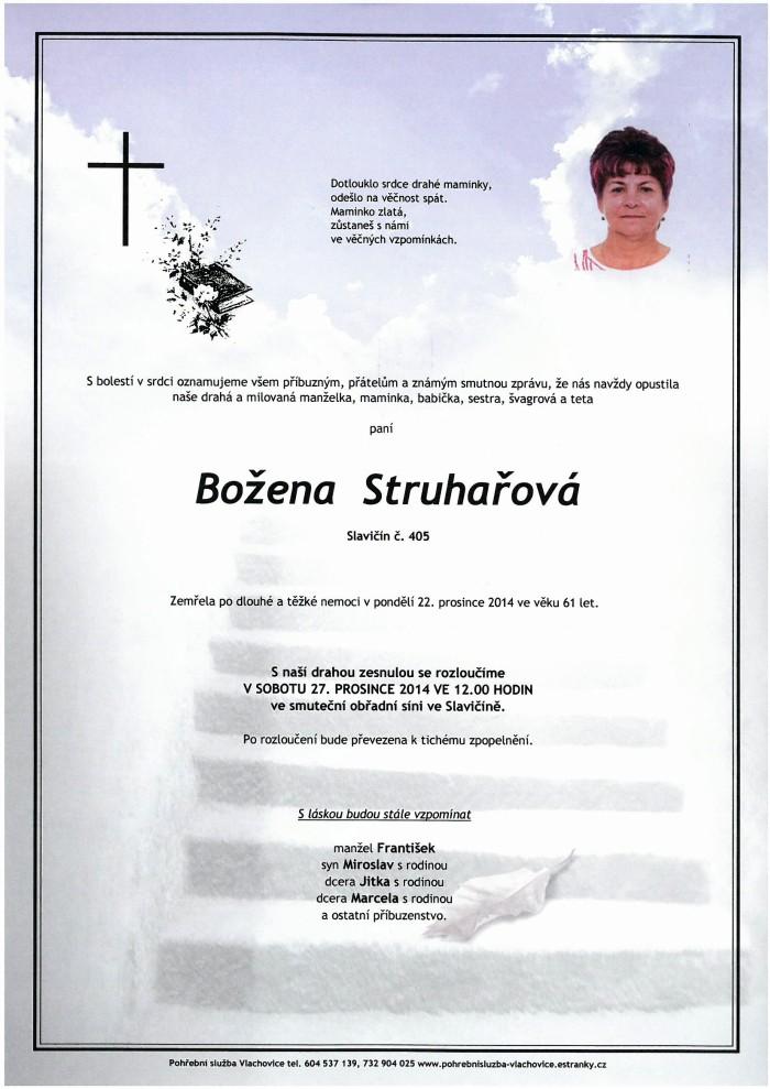 Božena Struhařová