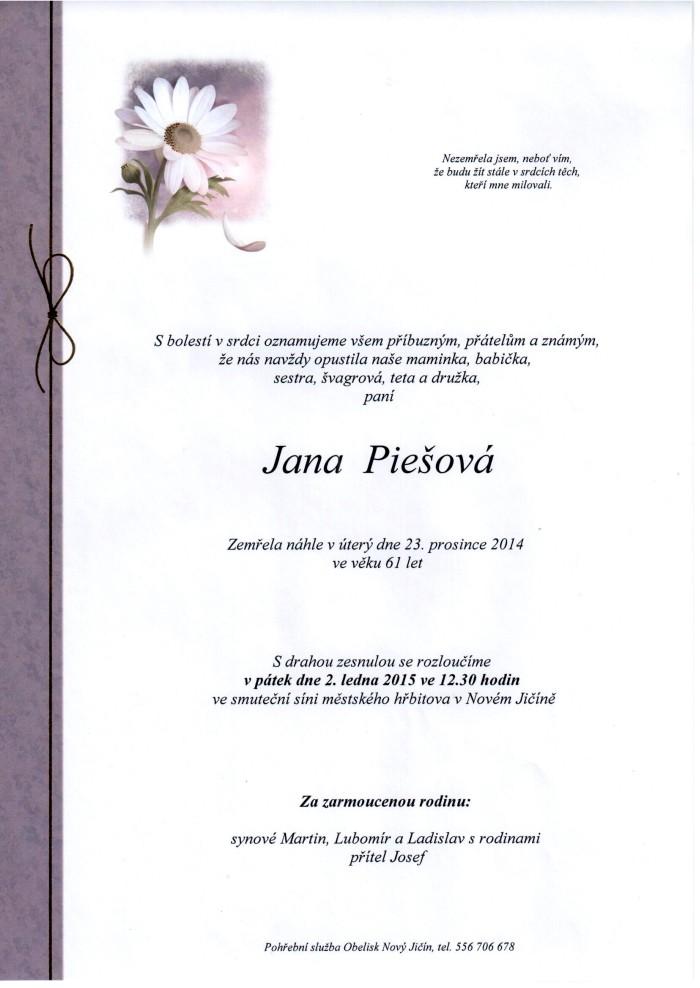 Jana Piešová