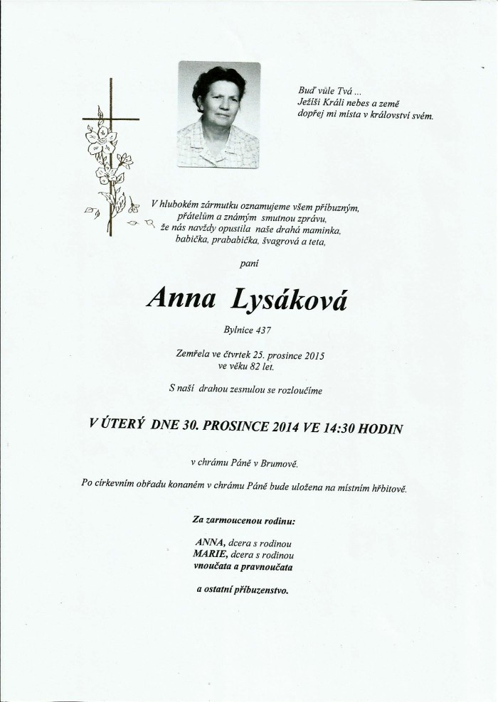 Anna Lysáková