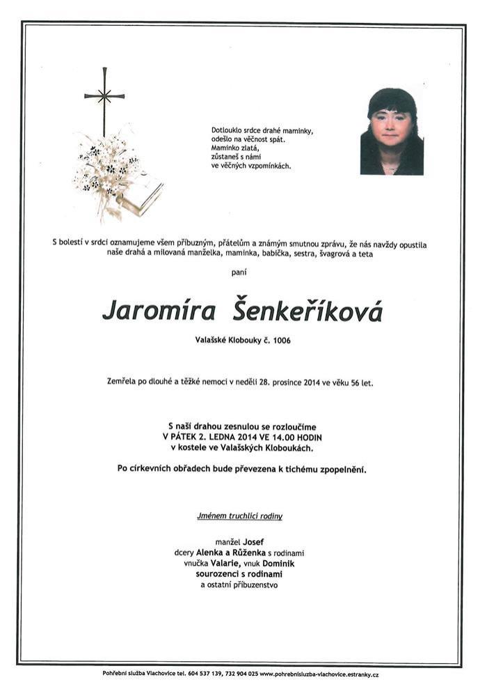 Jaromíra Šenkeříková