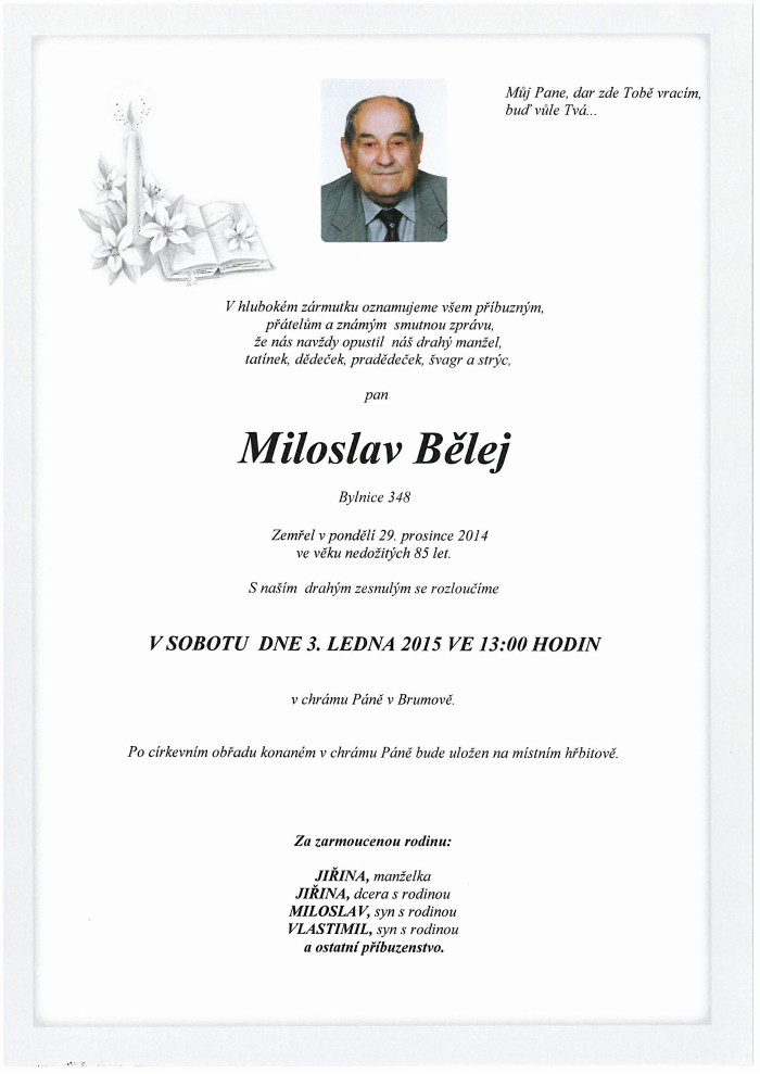 Miloslav Bělej