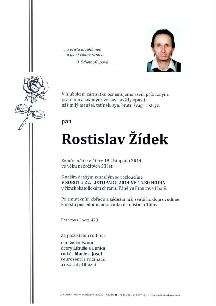 Rostislav Žídek