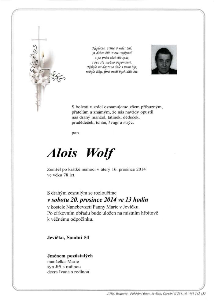 Alois Wolf