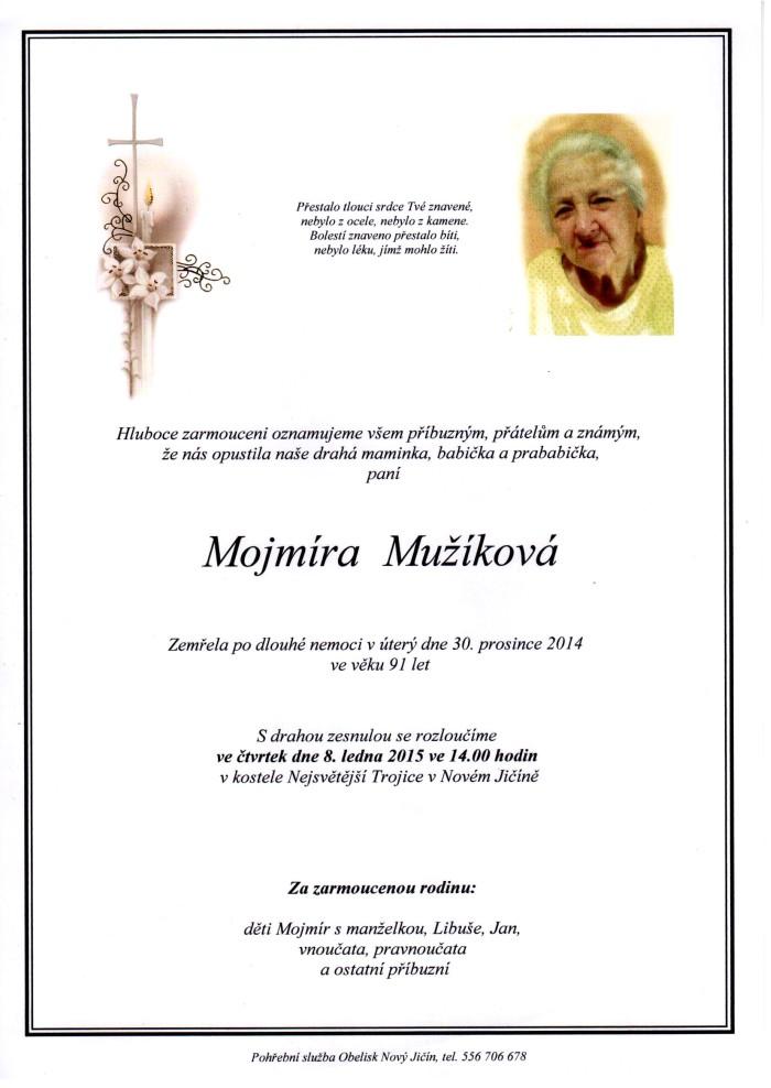 Mojmíra Mužíková