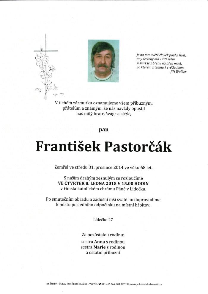 František Pastorčák