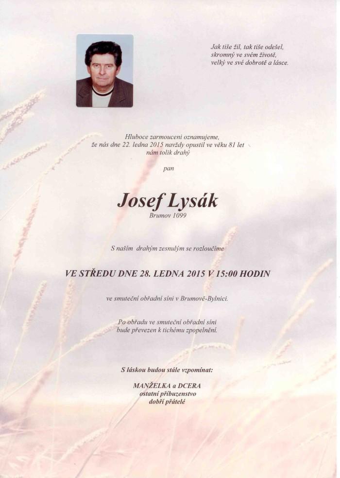 Josef Lysák