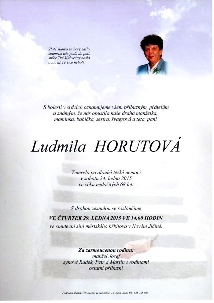 Ludmila Horutová