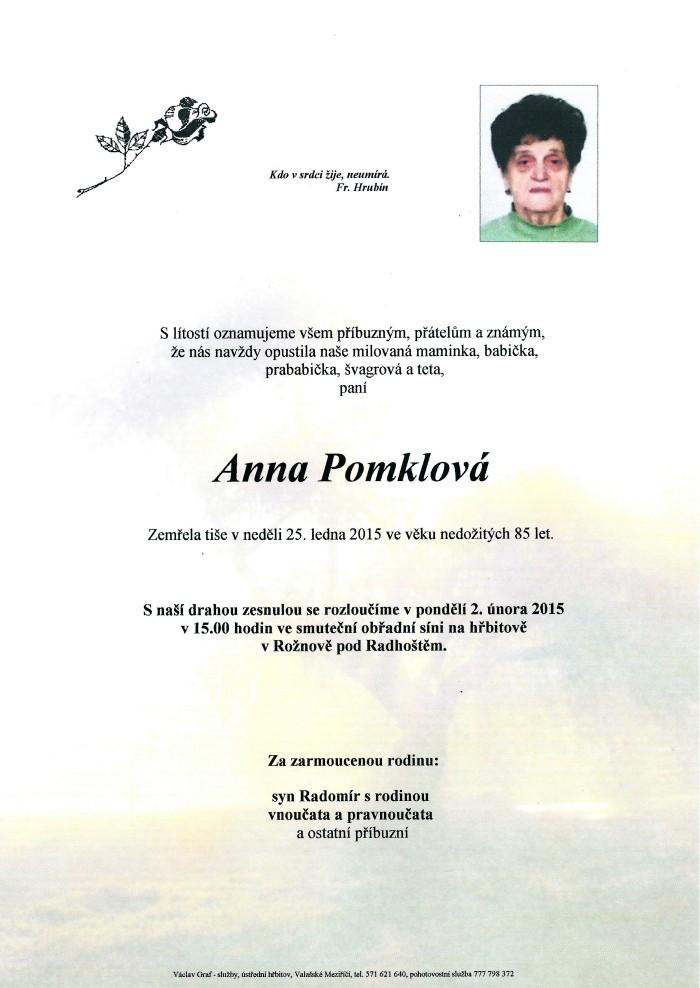 Anna Pomklová