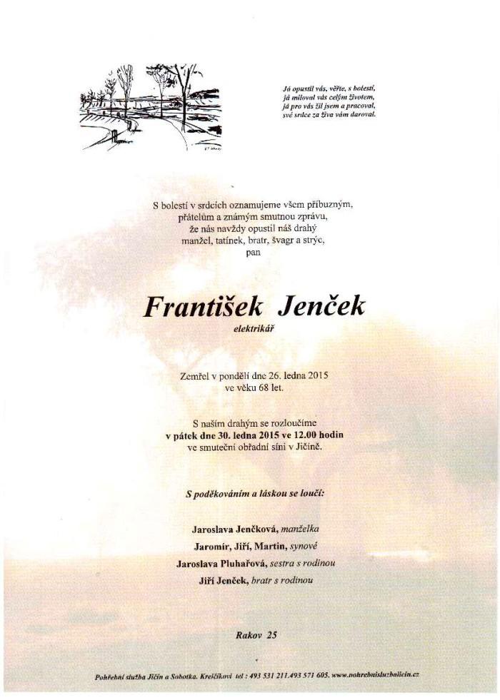 František Jenček