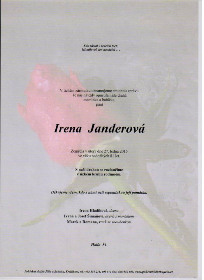 Irena Janderová