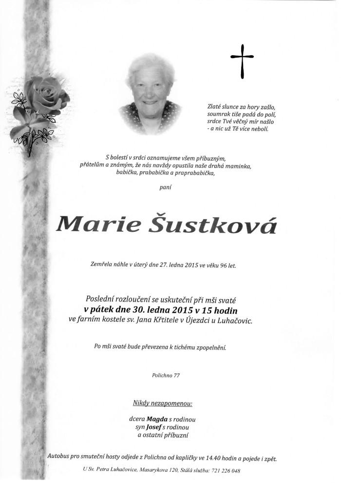 Marie Šustková