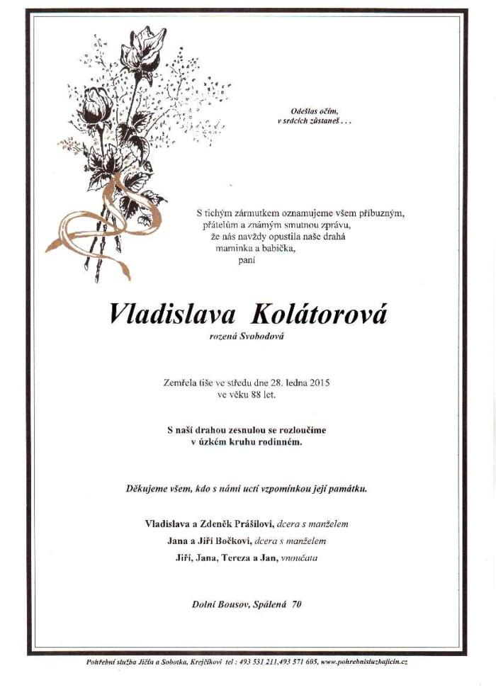 Vladislava Kolátorová
