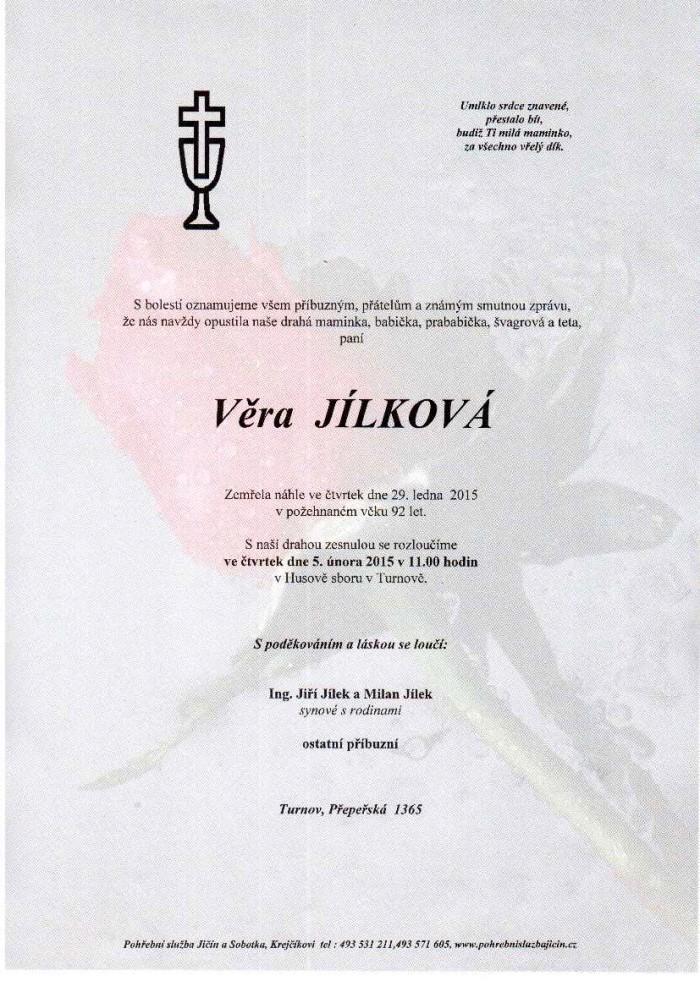 Věra Jílková