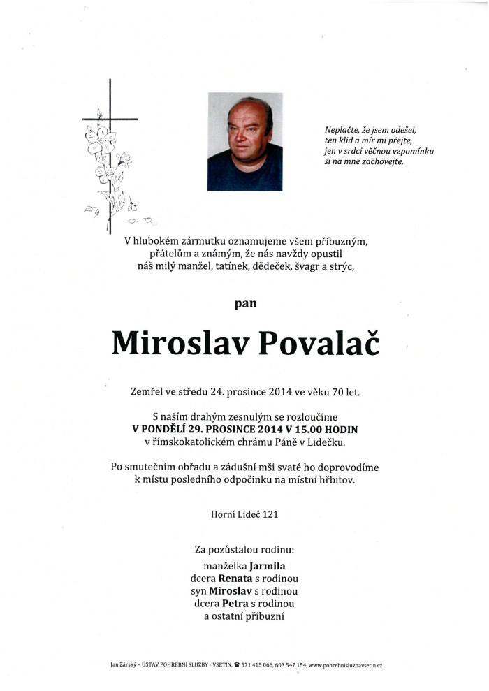 Miroslav Povalač