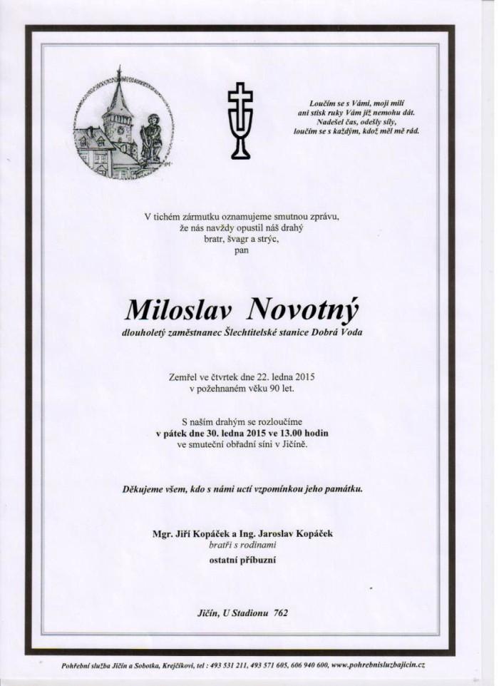 Miloslav Novotný