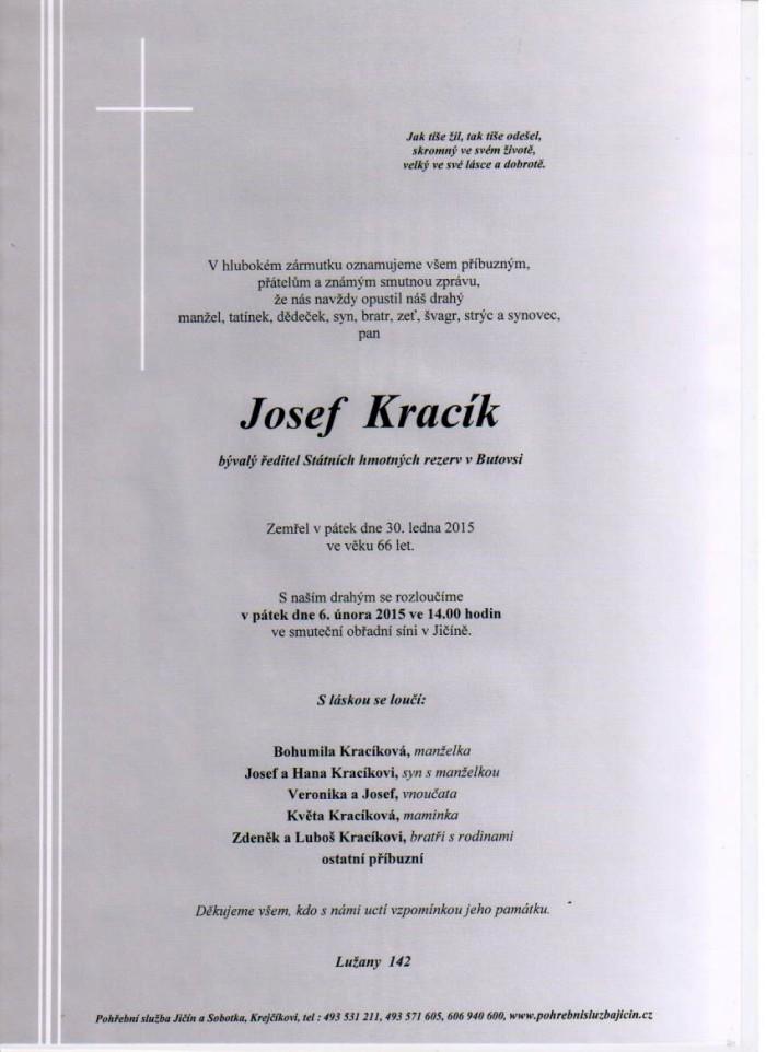 Josef Kracík