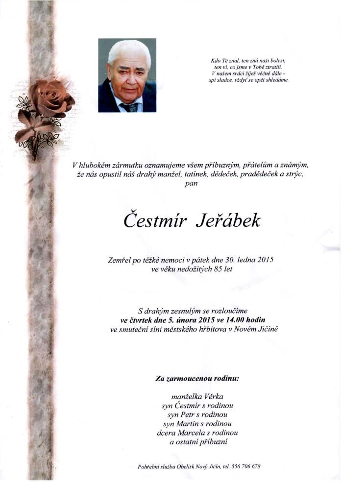 Čestmír Jeřábek