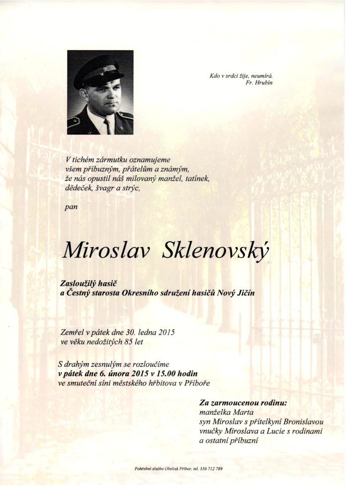 Miroslav Sklenovský
