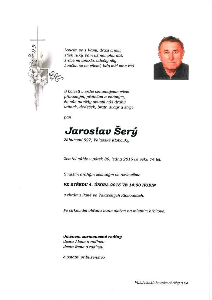 Jaroslav Šerý