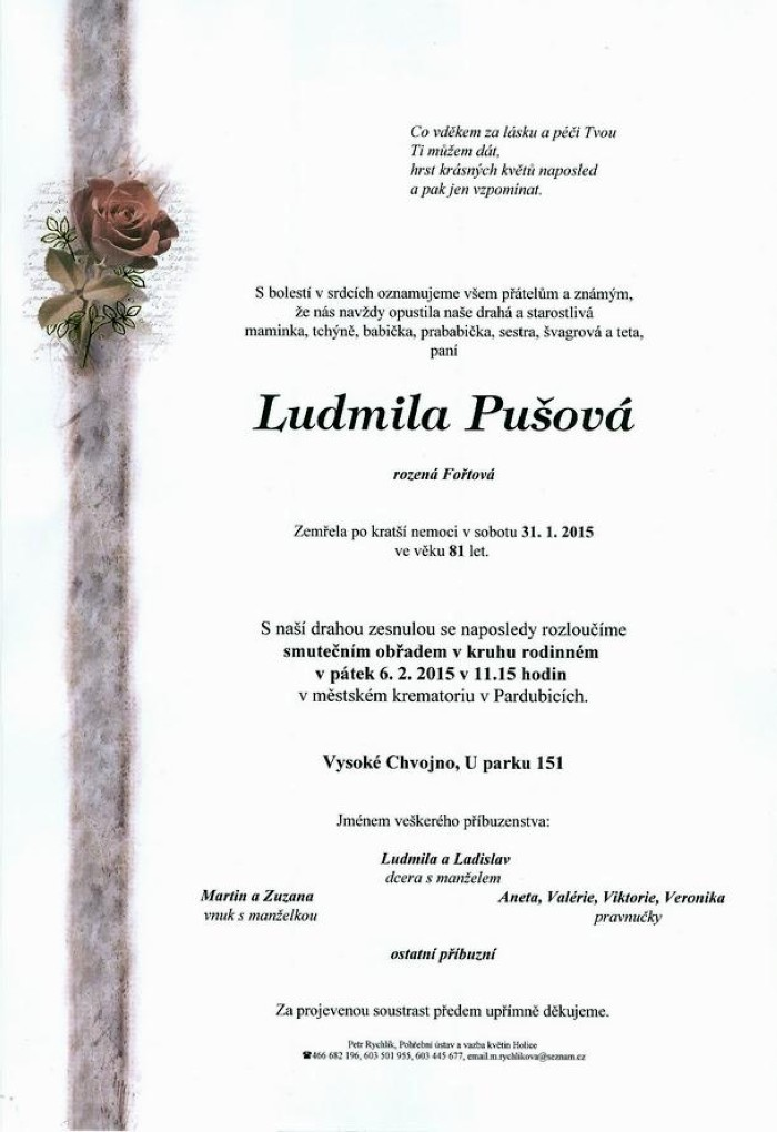 Ludmila Pušová