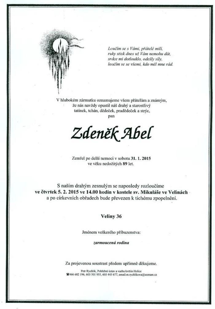 Zdeněk Abel
