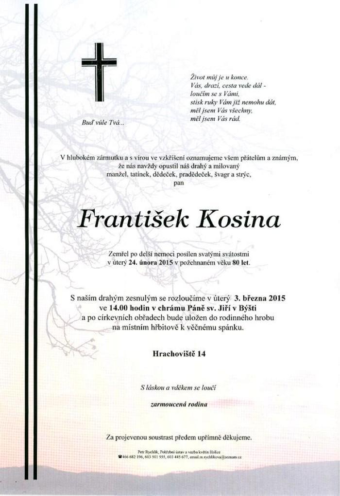 František Kosina
