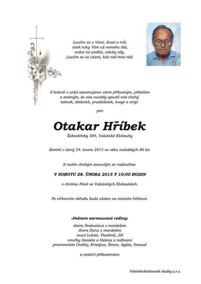 Otakar Hříbek