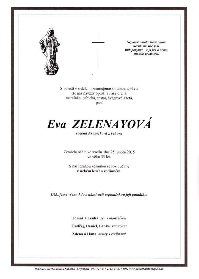 Eva Zelenayová