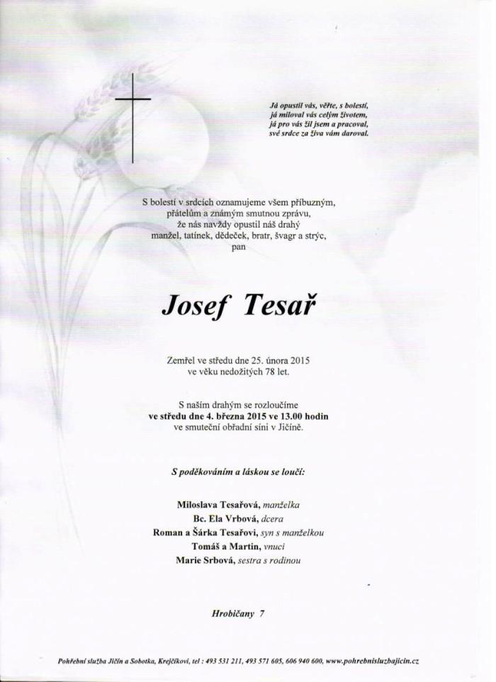 Josef Tesař