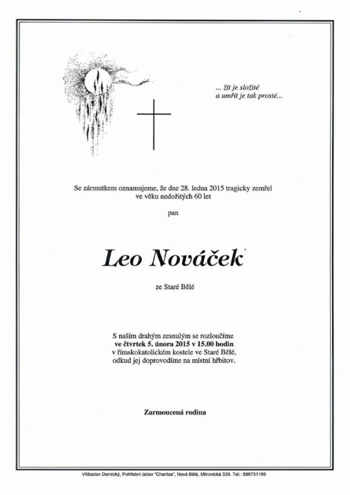 Leo Nováček