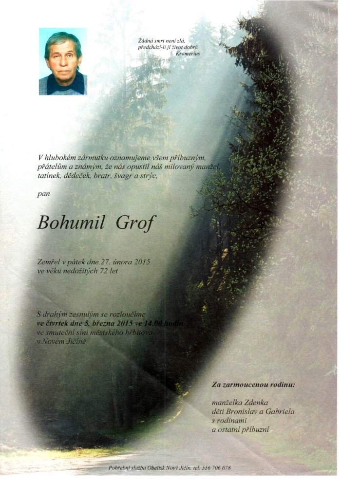 Bohumil Grof