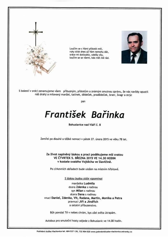 František Bařinka