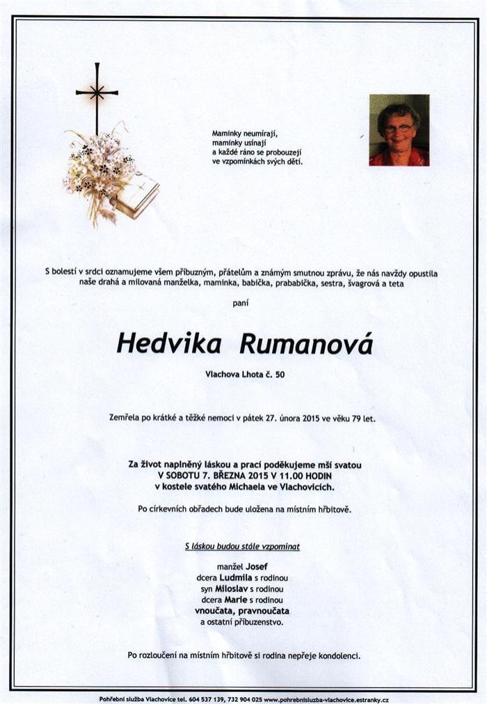 Hedvika Rumanová