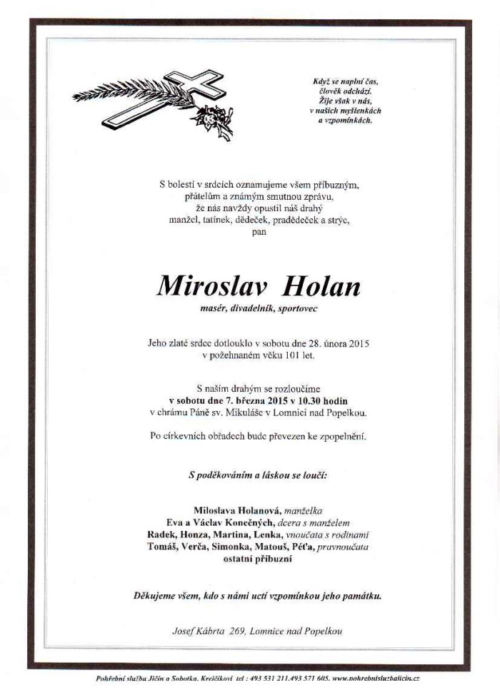 Miroslav Holan