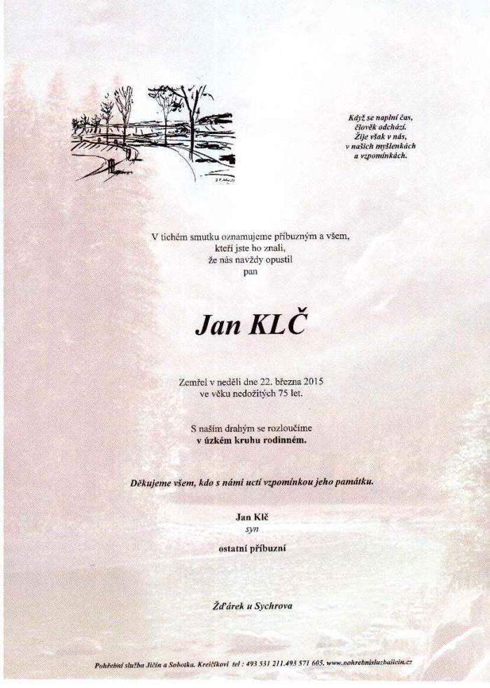 Jan Klč