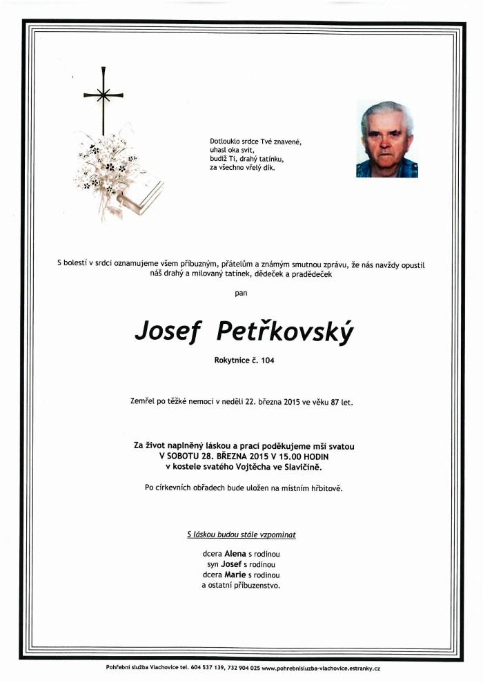 Josef Petřkovský