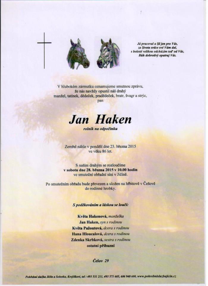 Jan Haken