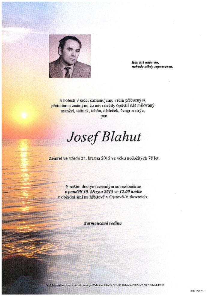 Josef Blahut