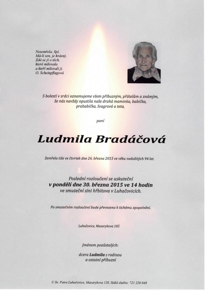 Ludmila Bradáčová